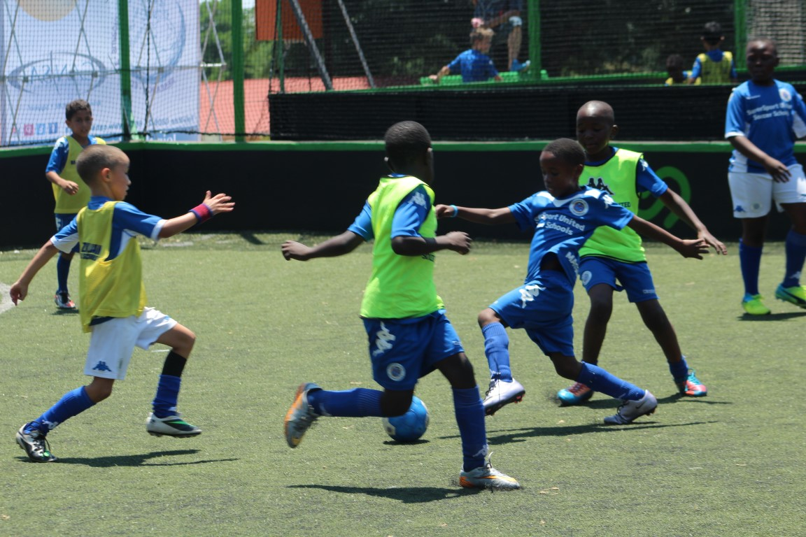 Supersport United Sports Schools host their World Cup.