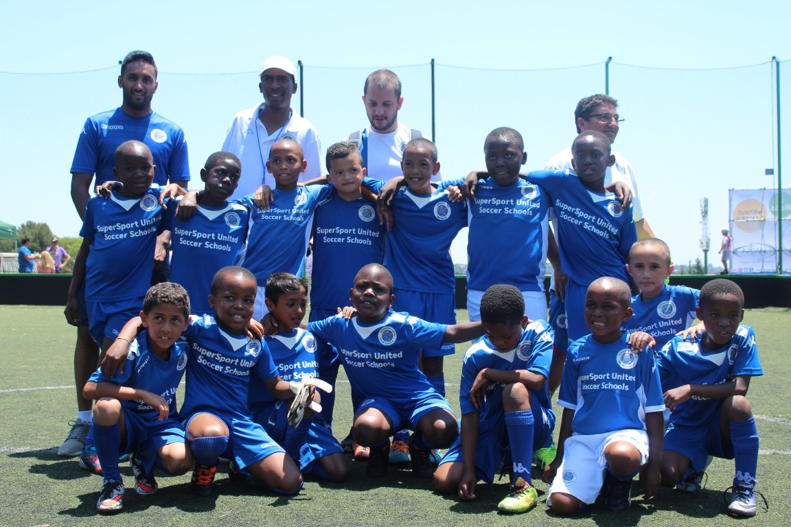 U8 and U9 players from Marks Park and Kempton Park.