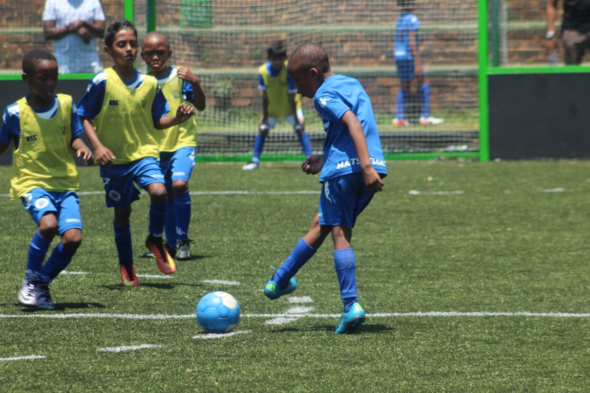 Supersports United Sports School develop players from as young as six years old.