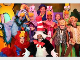 Dr Seuss and his entourage set the stage to charm you and your family. Photo Supplied.