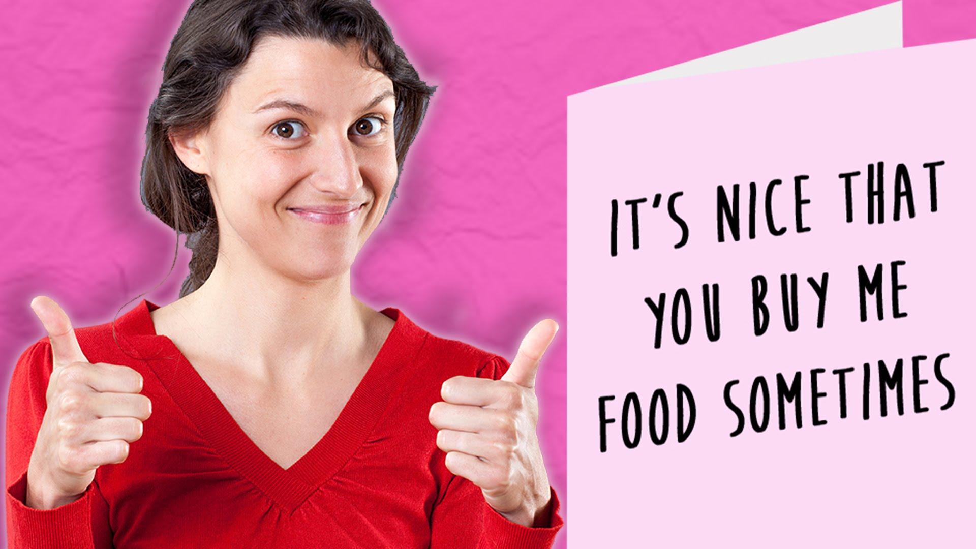 If Valentine's Day cards were brutally honest