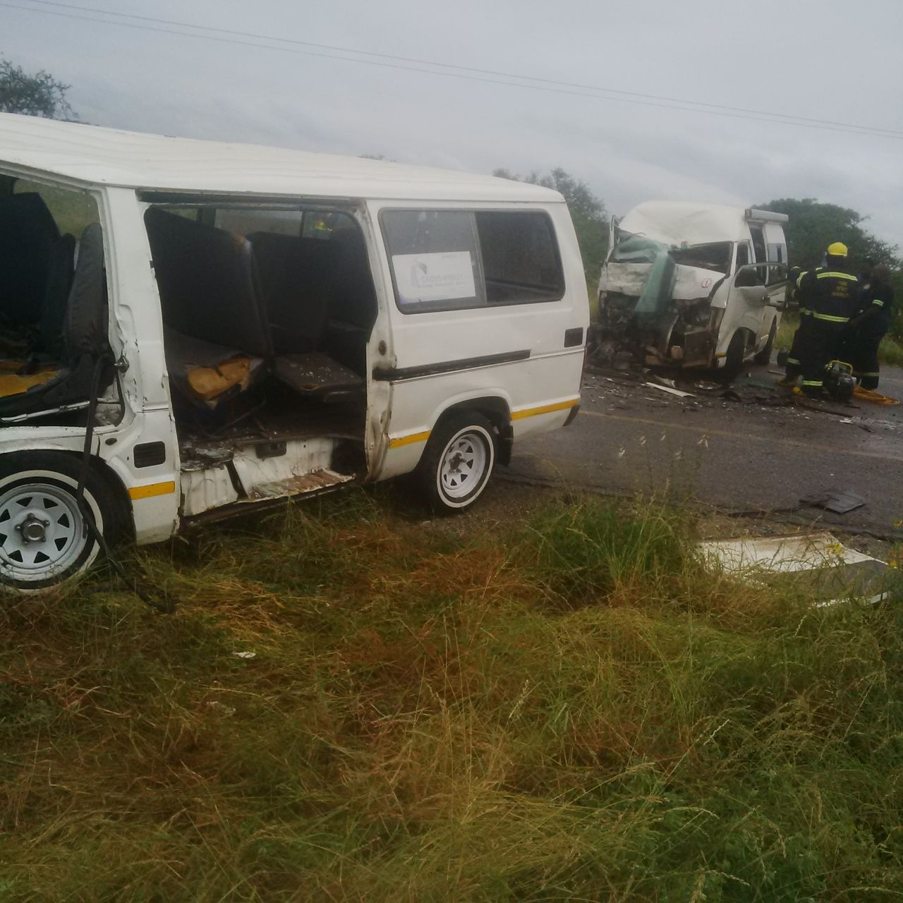 18 Injured In Collision Between 2 Taxis And Sedan