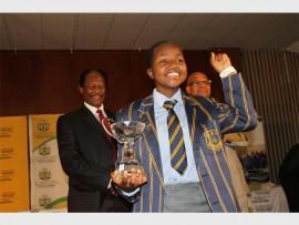 Malamba Nemavhadwe is the top matriculant in Limpopo.