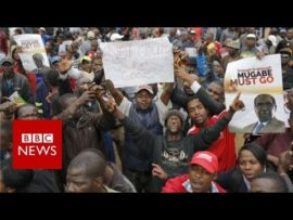 Zimbabwe : Thousands celebrate end of Mugabe era – BBC News