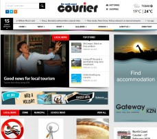 The North Coast Courier's website has a new look.
