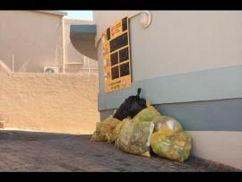 Garbage cleaned up on and around Willard Beach.