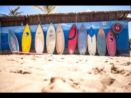 Surfers' old school weapons of choice. Photo: Nick Ferreira / Quiksilver