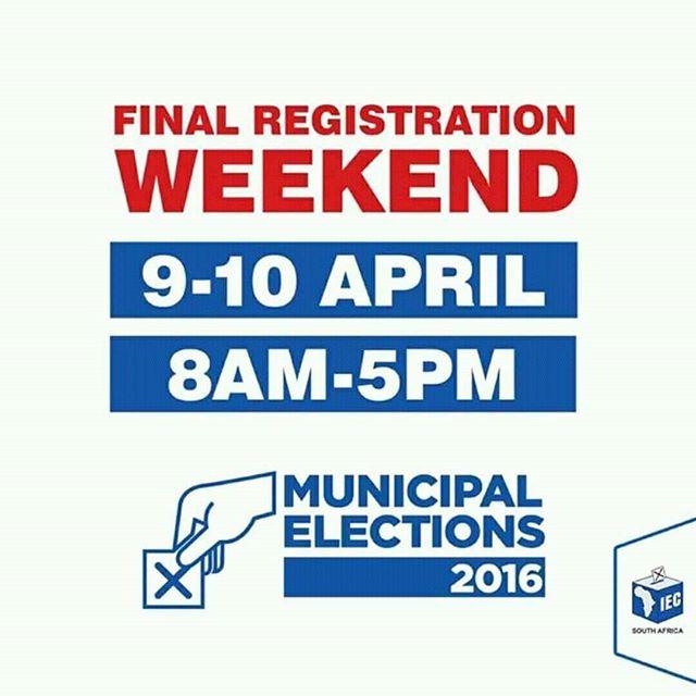 Last Chance For Voter Registration