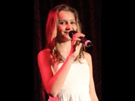 Emma Gillespie serenades the crowd