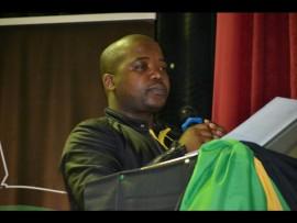 KZN ANCYL secretary Thanduxolo Sabela.
