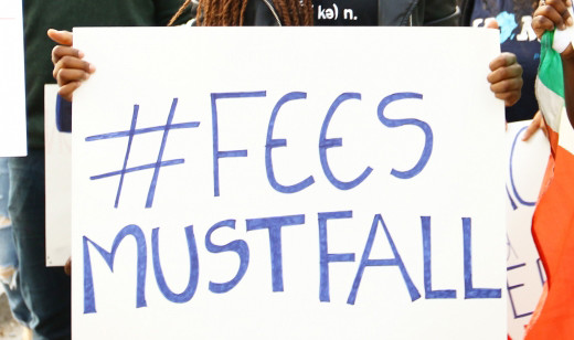AS the #FeesMustFall campaign continues across the country political parties try to get in on the action, taking credit for the student driven protect.