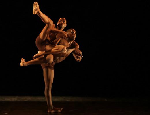 Muzi Shili and Oscar Buthelezi. Photo: Mark Wessels