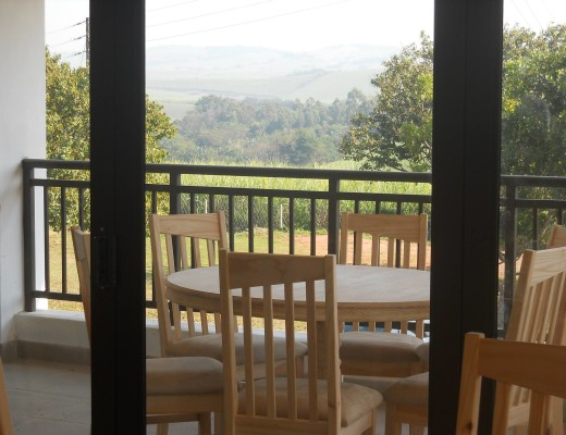 The beautiful view from The Upper Room coffee shop.