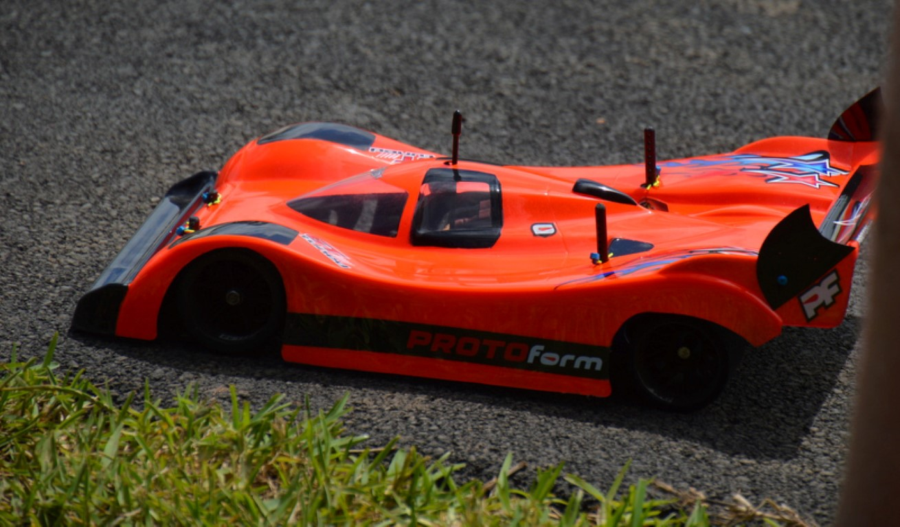 Burning Rubber With RC Car Racing