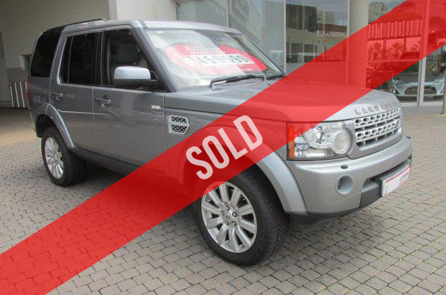 2013 LAND ROVER DISCOVERY4,50614 KM,GREY - R 429 990.00