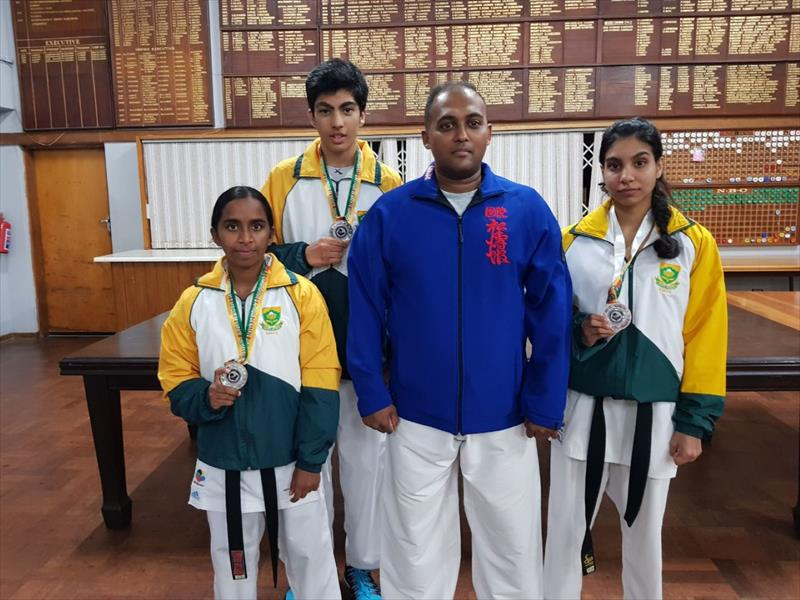Local karatekas shine at All Africa Champs