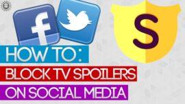 How to block spoilers on social media!