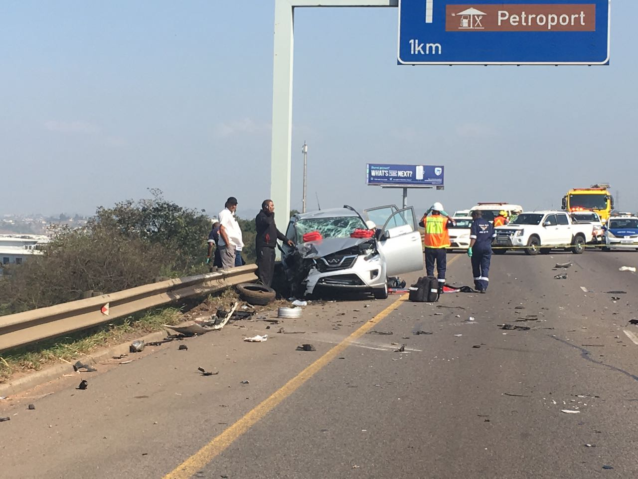 TAKE NOTE: N2 backed up following high-speed chase, shootout
