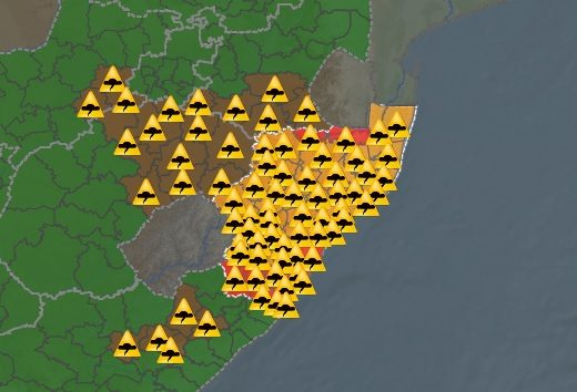 Weather Alert: Weather SA issues storm warning | North Coast