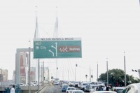 The Nelson Mandela Bridge will be closed off until 29 July.