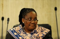 Transport Minister Dipuo Peters