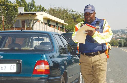 Metro police officer