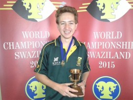 Jason Batzofin once again captures the title of War-games Junior World Championship after winning it last year.