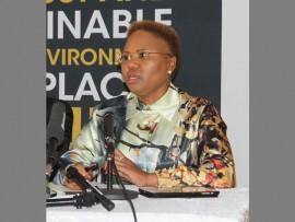 Global Entrepreneurship Congress 2017… Minister for Small Business Development, Lindiwe Zulu.