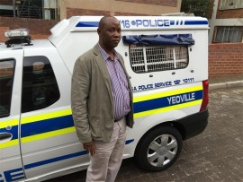 Constable Thabo Malatji of Yeoville police.