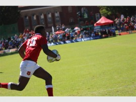 Lwazi Monakali was impressive at the Easter rugby festival.