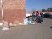 Die Eersterust-polisie het gesteelde sigarette ter waarde van R500 000 in Eersterust opgespoor.
