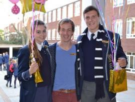 Alicia Swanepoel, Deon Meiring en Willem Hofmeyr.