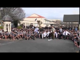 1700 Students Perform The Haka At Their Late Teachers Funeral Service