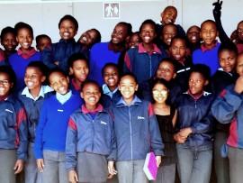 The members of SIlverton Primary's Mad Geeks Tutor club.