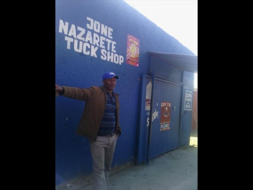 The shop where the crime was committed. PHOTO: Supplied.