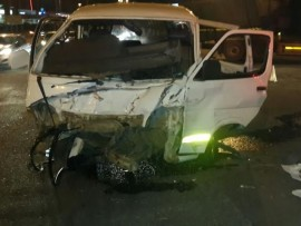 Six people were injured in two crashes in the east of Pretoria on Friday night. Photo: Supplied.
