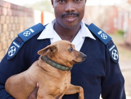 Tshwane SPCA inspector Andrew Kekana was hijacked and detained for hours on Thursday. Photo: Supplied.