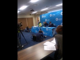 Daniel Mthimkulu (in green reflective jacket) resigned from Prasa on Monday. Photo: Andrew Ngozo