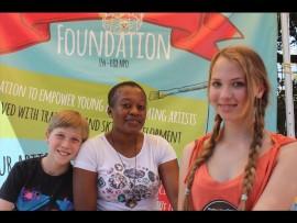 Jame Dawson, Gabbey Malope and Cathleen Dawson.