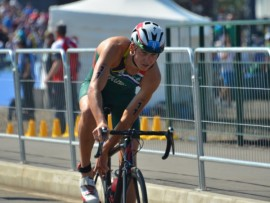 Wian Sullwald is on his way to the World Triathlon Championships in Chicago.