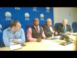 Kevin Mileham, Solly Msimanga, Lex Middelberg and Gert Pretorius. Photo: Andrew Ngozo