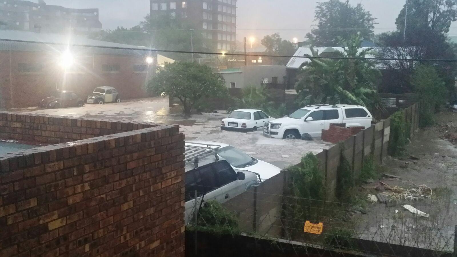 Rainfall Damages Parts Of Pretoria Rekord East