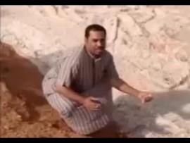 VIDEO OF THE DAY: River of hail runs through desert