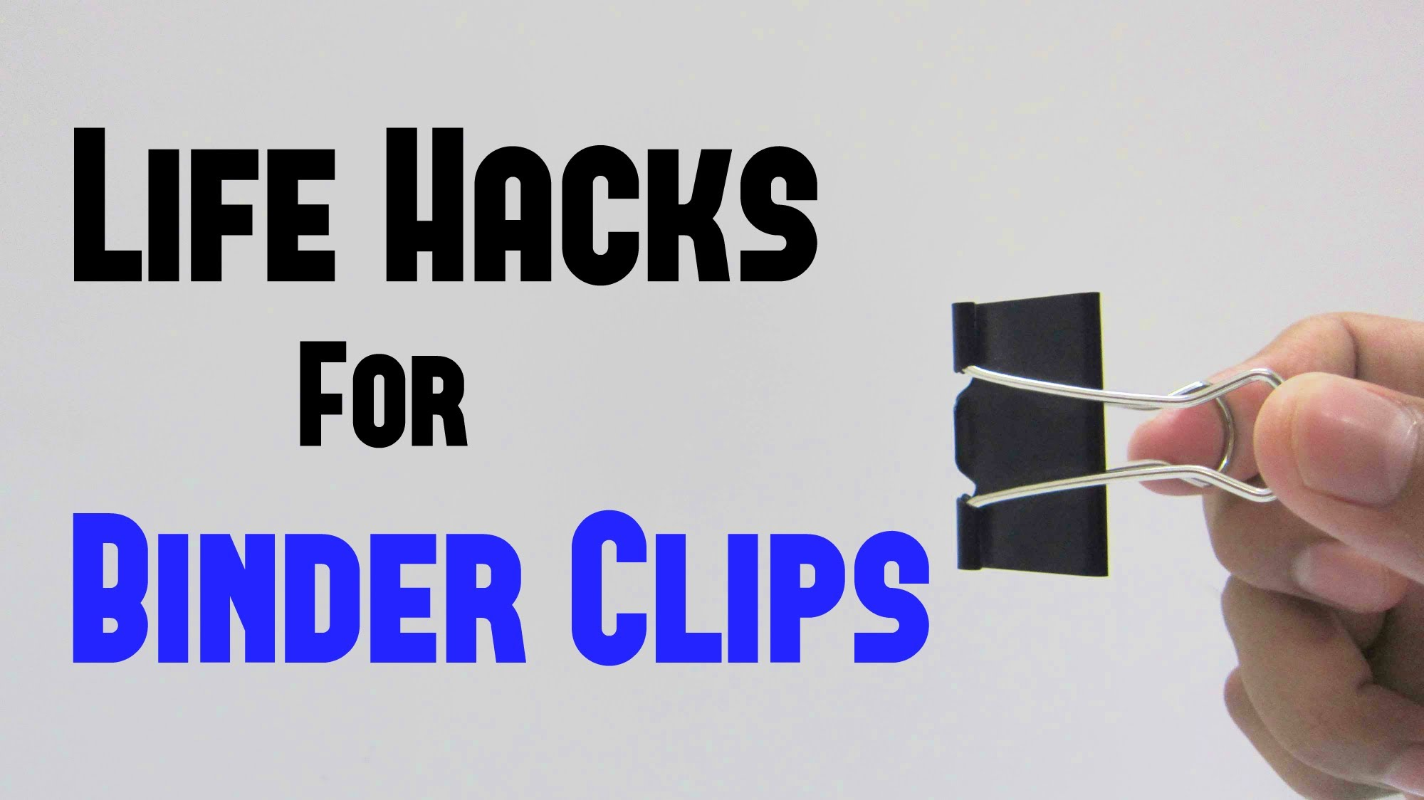 15 useful things you can do with binder clips