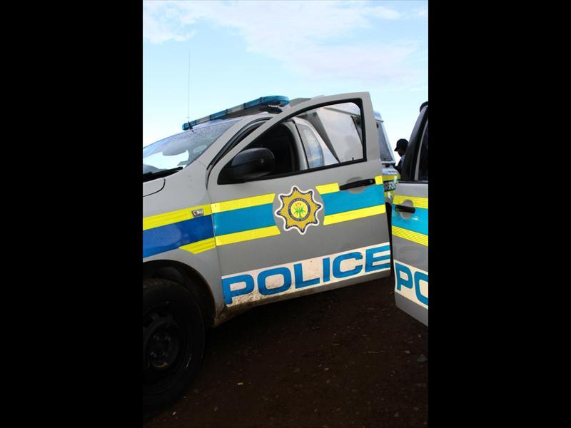 Police vans.  Photo: Stockimage/Gopolang Chawane