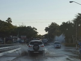 water burst