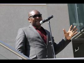 Gauteng premier David Makhura opening the new district. Photo: Ron Sibiya