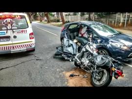 Previous horrific motorbike accident. Photo: STOCK