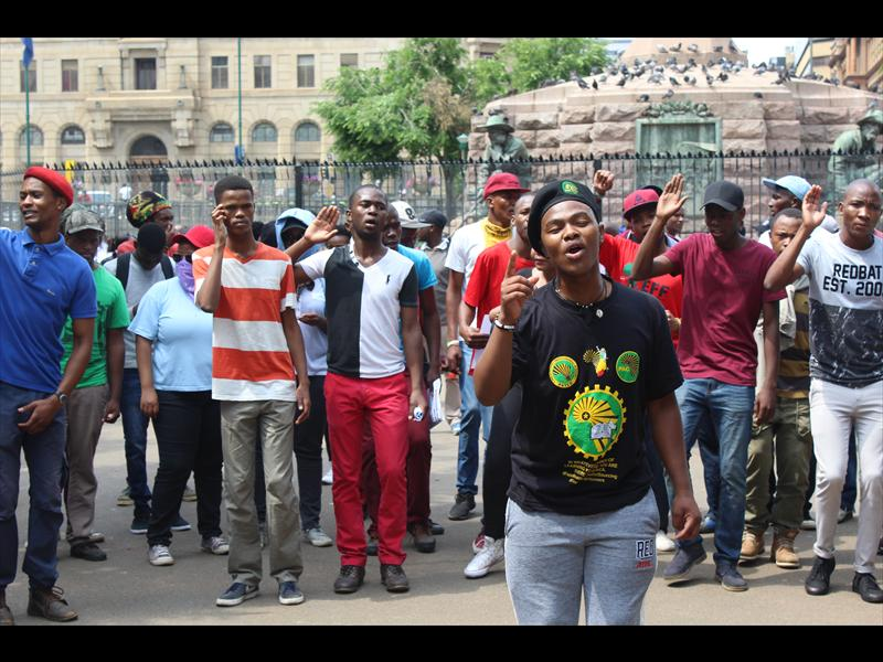 Fees Must Fall march to Union Buildings gets underway