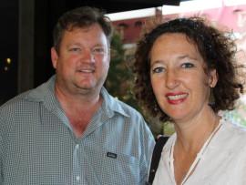 Wilhelm and Marinda van Niekerk. Photo: Kayla van Petegem
